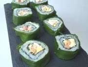 Eiersalat Maki Sushi